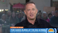 VIDEO: Tom Hanks Talks New Film 'Inferno,' SNL Presidential Debate Parody & More