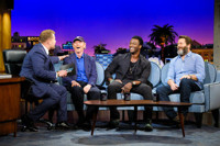 VIDEO: Ron Howard, Nick Offerman & Aldis Hodge Visit LATE LATE SHOW
