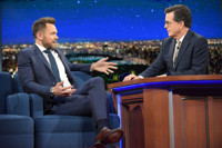 VIDEO: Joel McHale Talks New Show 'The Great Indoors' on LATE SHOW