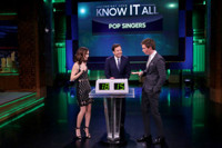 VIDEO: Eddie Redmayne & Lily Collins Face Off in Game of 'Know It All'