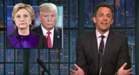VIDEO: LATE NIGHT's Seth Meyers Talks 'Bad First Signals' of Trump Presidency