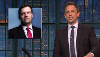 VIDEO: Seth Meyers Takes on Trump's Muslim Registry Ideas on LATE NIGHT