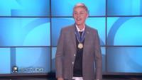 VIDEO: Ellen DeGeneres Gushes on Receiving Presidential Medal of Freedom