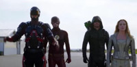 VIDEO: Sneak Peek - Crossover of Superheros on Next DC'S LEGENDS OF TOMORROW