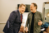 VIDEO: Billy Crystal Gives James Corden Grammy Hosting Tips on LATE LATE SHOW