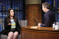 VIDEO: Abbi Jacobson Talks New Book 'Carry This Book' on LATE NIGHT