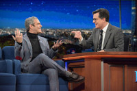 VIDEO: Andy Cohen Dishes on Hitting Gay Bars With John Mayer on LATE SHOW