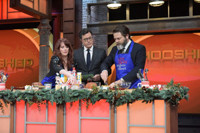 VIDEO: Megan Mullally & Nick Offerman Battle for LATE SHOW's 'Smooshed' Ttile