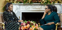 VIDEO: Michelle Obama Reveals She Will Not Run for President on OPRAH Special