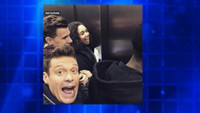 VIDEO: NEW YEAR'S ROCKIN' EVE Host Ryan Seacrest Gets Stuck in Times Square Elevator!