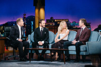 VIDEO: Sienna Miller & Tom Ford Visit LATE LATE SHOW