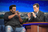 VIDEO: Craig Robinson Takes Stephen to Music School on LATE SHOW