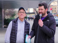 VIDEO: Billy Eichner & Stephen Colbert Talk to New Yorkers About Donald Trump