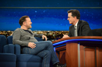 VIDEO: Ricky Gervais Travels Down Social Media Wormhole on LATE SHOW