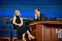 VIDEO: Christina Ricci Shares Vintage Video on LATE SHOW