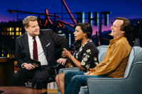 VIDEO: Mindy Kaling & Bill Paxton Reveal Celebrity Crushes on LATE LATE SHOW