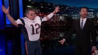 VIDEO: Jimmy Kimmel Unmasks a Fake 'Tom Brady' on Last Night's Show