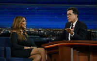 VIDEO: Wendy Williams & Stephen Colbert See Who Can Throw the Most Shade
