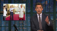 VIDEO: Seth Meyers Takes a Closer Look at Trump's 'Bathrobe-Gate' on LATE NIGHT