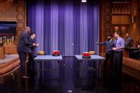 VIDEO: Magic Johnson & Luke Wilson Face Off in 'Roomba Pong' on TONIGHT SHOW