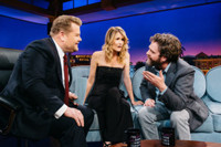 VIDEO: Zach Galifianakis & Laura Dern Visit LATE LATE SHOW
