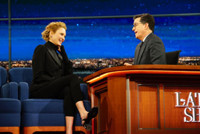 VIDEO: Uma Thurman Faces Stephen Colbert's Ire for Turning Down 'Lord of the Rings'