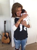 VIDEO: TODAY's Hoda Kotb Reveals Adoption of Baby Girl on Live TV!