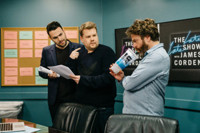 VIDEO: James Corden Can't Seem to Get Rid of Zach Galifianakis