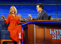 VIDEO: Kelly Ripa Scolds Stephen Colbert for Getting Her Son in Trouble at School