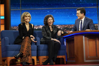 VIDEO: Jane Fonda & Lily Tomlin Talk Marching, Protesting & Being Arrested on LATE SHOW