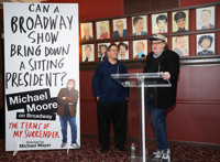 BWW TV: Can a Broadway Show Take Down a Sitting President? Michael Moore Wants to Find Out!