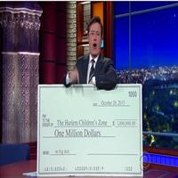 VIDEO: Stephen Colbert Challenges Donald Trump to Donate $1 Million
