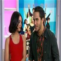 VIDEO: GREASE: LIVE's Vanessa Hudgens, Carlos PenaVega Sing 'Summer Nights' on 'Today'
