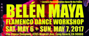 Belen Maya to Host Flamenco Dance Workshops in Santa Barbara, Long Beach