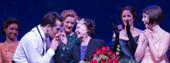 BWW TV: Original Film Star Leslie Caron Stops by AN AMERICAN IN PARIS on Broadway!
