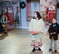 Photo Flash: The Most Famous Editorial Line Comes to Life at the Heights Players