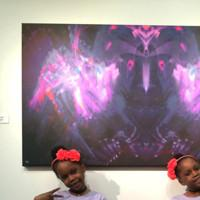 Photo Flash: Grammy Winner Will Calhoun Performs at Opening Reception for Solo Exhibit at Casita Maria Gallery