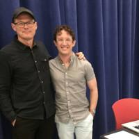 Photo Flash: In Rehearsal withMark Linn-Baker, Barbara Walsh, Garth Kravits and Morefor New Victory LabWorks' Reading of Andrew Gerle's THE GREAT BLUENESS