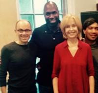 Photo Flash: Jill Eikenberry Rehearses with NYC Gay Men's Chorus for Feinstein's/54 Below Debut
