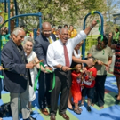 Photo Flash: NYC Parks Transforms White Park Into East Harlem Oasis