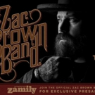 Zac Brown Band Announces 2017 North American Headlining Tour Dates