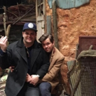 Photo: Josh Gad and Andrew Rannells Reunite On Set for 5-Year BOOK OF MORMON Anniversary!