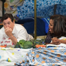 VIDEO: Stephen Colbert & First Lady Michelle Obama Make a Blanket Fort on LATE SHOW