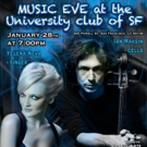 Ian Maksin and Yelena Neva Team for MUSIC EVE at University Club of San Francisco