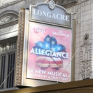Up on the Marquee: ALLEGIANCE