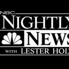 NBC NIGHTLY NEWS Hits Four-Week High; No. 1 in Total Viewers