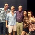 Photo Flash: George M. Cohan III Visits TheatreZone's GEORGE M!