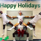 Photo Flash: Happy Holidays from SWEET CHARITY, A CHRISTMAS STORY, and More Saturday Intermission Pics!