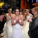 Photo Flash: ALADDIN's Courtney Reed Models Jasmine-Inspired Wedding Gown at Disney Fashion Event
