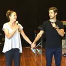 Photo Flash: Sutton Foster & Aaron Tveit Rehearse for DEFYING GRAVITY Down Under!